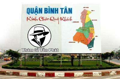 Dịch vụ thám tử quận Bình Tân