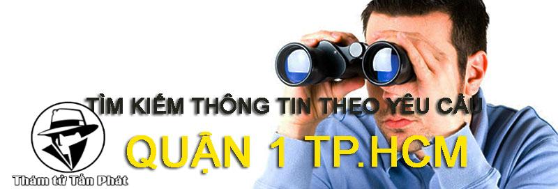 Dịch vụ thám tử giá rẻ Quận 1 Tphcm