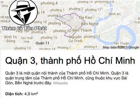 Dịch vụ thám tử quận 3 giá rẻ uy tín tphcm