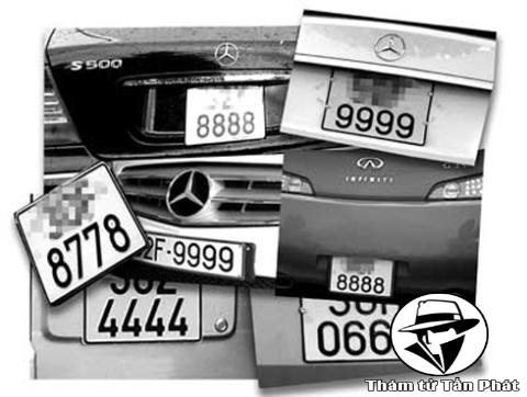 Dịch vụ thám tử truy tìm biển số xe uy tín chuyên nghiệp nhất Việt Nam