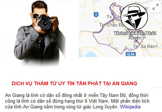 Dịch vụ thám tử giá rẻ ở An Giang